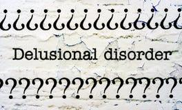 Delusional disorder Stock Photos