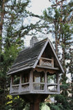 Deluxe Birdhouse Royalty Free Stock Photography