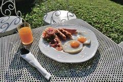 Deluxe Breakfast Stock Photo