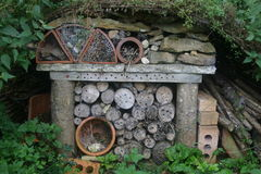 Bug hotel Royalty Free Stock Photography