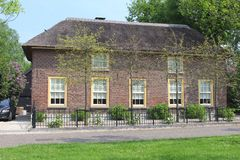 Stylish Dutch home in Geldermalsen, Betuwe, Netherlands  Stock Photo