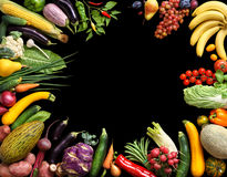 Deluxe eating background. Food photography different fruits and vegetables stock images