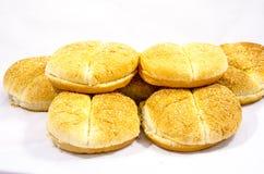 Deluxe Hamburgerbrötchen mit Samen Lizenzfreie Stockfotografie