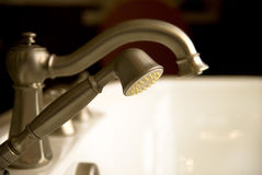 Deluxe Luxury Faucet Stock Photography