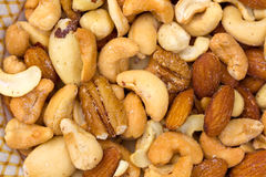 Deluxe Mixed Nuts Royalty Free Stock Images