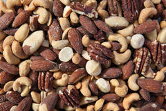 Deluxe Nuts Royalty Free Stock Photography