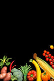 Deluxe Organic food background. Food photography different fruits and vegetables Royalty Free Stock Images
