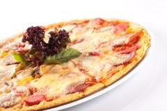 Deluxe Pizza Lizenzfreies Stockbild