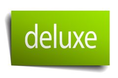 deluxe sign royalty free illustration