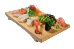 Deluxe Sushi Combination Royalty Free Stock Photo