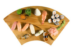 Deluxe Sushi-Kombination Stockfoto