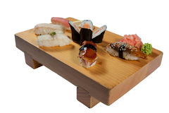 Deluxe Sushi-Kombination Stockfotos