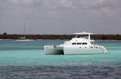 Deluxe yacht Arkivbilder