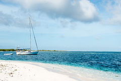 Delve into Paradise, Los Roques National Park. Los Roques archipelago is a federal dependency of Venezuela consisting of approximately 350 islands, cays, and Royalty Free Stock Images