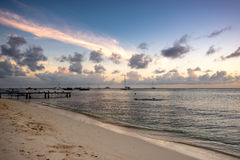 Delve into Paradise, Los Roques National Park. Los Roques archipelago is a federal dependency of Venezuela consisting of approximately 350 islands, cays, and Royalty Free Stock Photography