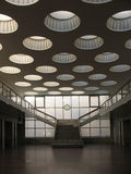 delvis rooflightssikt för tak fotografering för bildbyråer