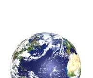 delvis värld Arkivbild