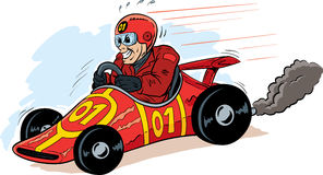 Demónio de velocidade Imagens de Stock Royalty Free