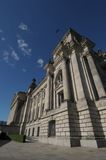 Dem deutschen volke. The seat of Germanys government, the Reichstag royalty free stock photos