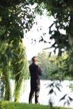 In dem Fluss Lizenzfreies Stockbild