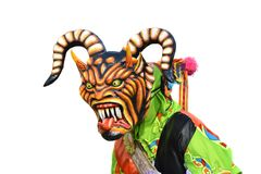 Demônio da dança Fotos de Stock Royalty Free