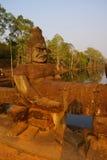 Demônio de pedra de Asura Fotografia de Stock