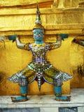 Demônio grande do palácio em Banguecoque fotos de stock