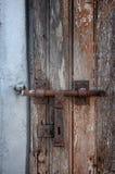 Demaged Old Door Stock Image
