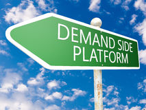 Demand Side Platform Royalty Free Stock Photos