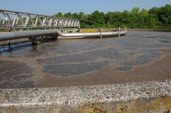 Demande de règlement d'eaux d'égout photographie stock libre de droits