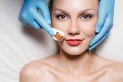 Demande de règlement de beauté Image stock