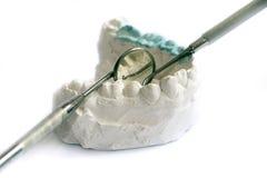 Demande de règlement dentaire photos stock