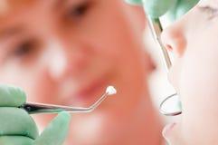 Demande de règlement médicale à la clinique dentaire photos libres de droits