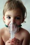 Demande de règlement pédiatrique 2 de nébuliseur Photo stock