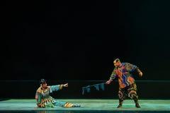"""Demandez le  de teenager†de Pékin Opera""""Yue des manière-enfants Images stock"""