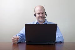 Demanding Businessman Stock Photo