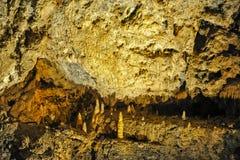 Demanovska Cave of Liberty, Slovakia. Europe. Interior of beautiful Demanovska cave of liberty Demänovská jaskyňa Slobody. Demianowska Valley, Tatry Mountain Royalty Free Stock Photography