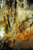 Demanovska Cave of Liberty, Slovakia. Europe. Interior of beautiful Demanovska cave of liberty Demänovská jaskyňa Slobody. Demianowska Valley, Tatry Mountain Royalty Free Stock Images