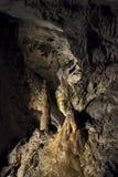 Demanovska Cave of Liberty, Slovakia. Stalactites and stalagmites in the Demanovska Cave of Liberty. Slovakia Stock Photography