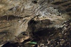 Demanovska Cave of Liberty, Slovakia. Stalactites and stalagmites in the Demanovska Cave of Liberty. Slovakia Royalty Free Stock Photography
