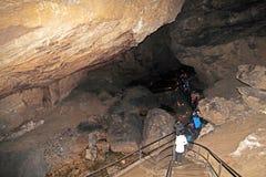 Demanovska-Höhle der Freiheit, Slowakei Lizenzfreie Stockfotos