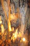 Demanovska-Höhle der Freiheit, Slowakei Stockbild
