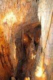 Demanovska-Höhle der Freiheit, Slowakei Lizenzfreie Stockfotografie