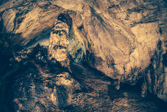 Demanovska ice cave. At Slovakia stock photography