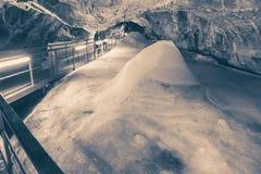 Demanovska ice cave Royalty Free Stock Photo