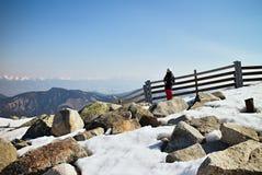 Demanovska Valley, Liptov - ski resort Jasna. On top of the mountain Chopok - Low Tatras Royalty Free Stock Images