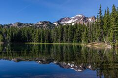 Demaris Lake and South Sister