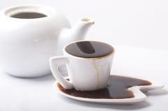Demasiado café Imagem de Stock