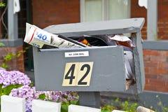 Demasiado correio de sucata #3 Foto de Stock