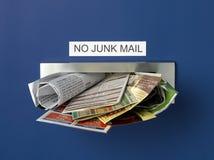Demasiado correo de desperdicios #2 Fotografía de archivo libre de regalías